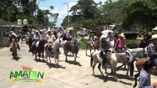 Gran Cabalgata En Amatan Chiapas Con Motivo A La Feria 2014