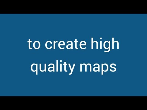 Create high quality maps with Maps4News