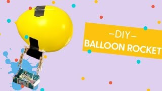 Candy Balloon Rocket, Toy Hackers How-To-Build (feat: Simone Giertz)
