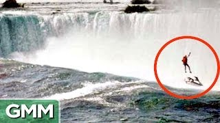 Unbelievable Niagara Falls Survival Stories