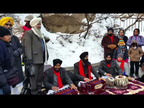 Kirtan on the Great Wall of China - 28/11/2015