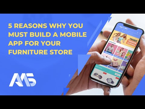 5 Reasons To Build A Mobile App for Furniture Store | AppMySite Furniture App Builder