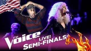 """The Voice 2017 Chloe Kohanski - Semifinals: """"I Want to Know What Love Is"""" 