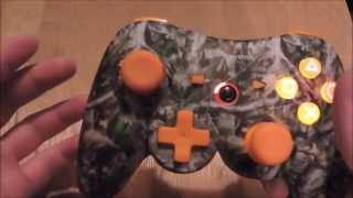 Camouflage PowerA PS3 Controller review