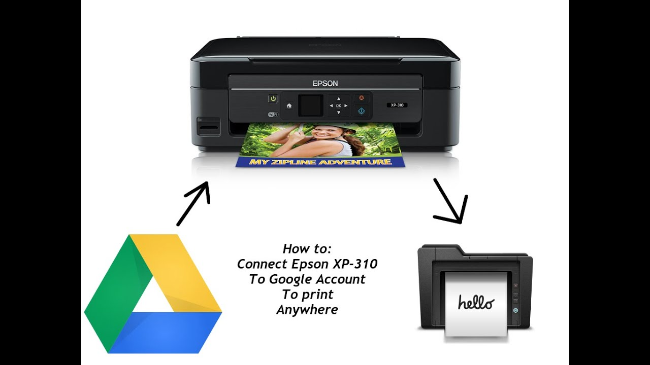 Vellidte How to: Connect Epson WiFi printer to Google account (Using UP-33