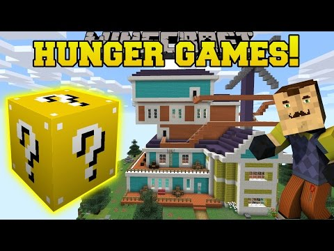 Minecraft: HELLO NEIGHBOR HUNGER GAMES - Lucky Block Mod - Modded Mini-Game