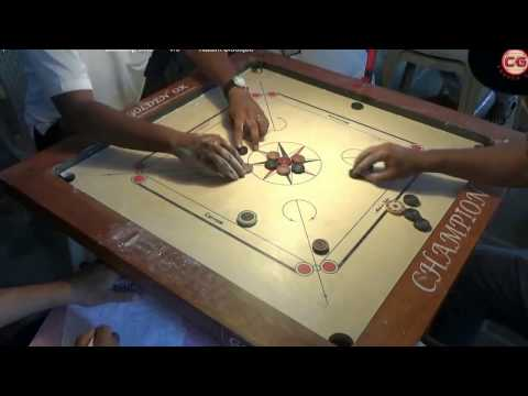 Final Sandeep Dive Vs Nadim Siddique Set 1 Mumbai Suburban District Carrom Organised Mayor Cup