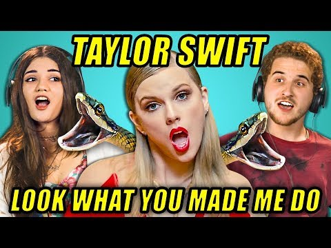ADULTS REACT TO TAYLOR SWIFT - LOOK WHAT...