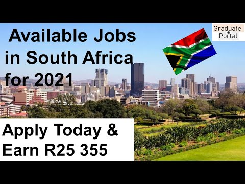 Available Jobs in South Africa for 2021│Apply today and start earing │No Experience