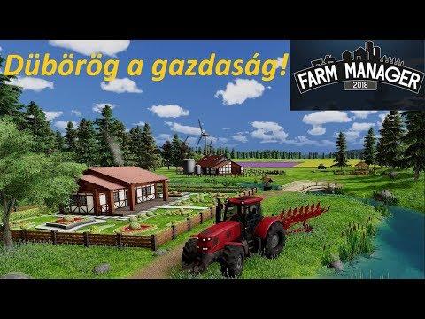 Farm Manager 2018 HUN #8 -  Dübörög a gazdaság