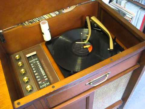 Bradford Console stereo from 1962