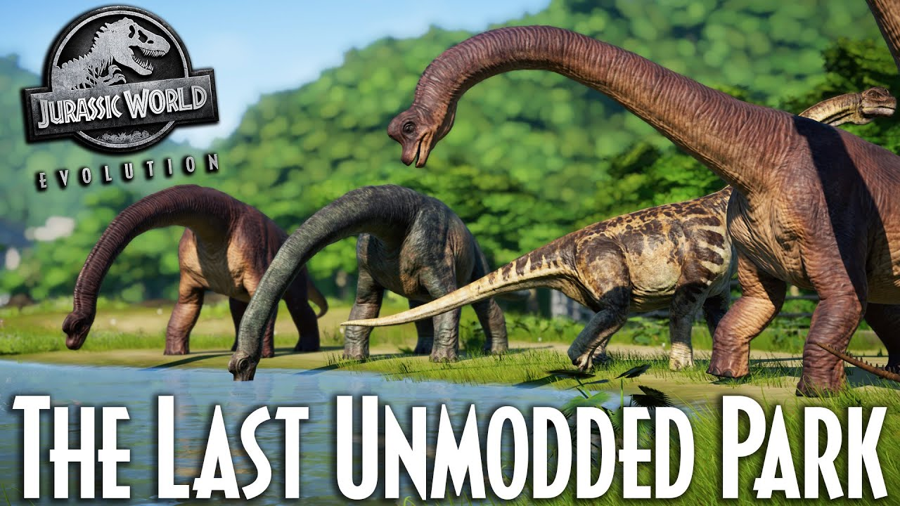 Last of its kind | Jurassic World Evolution Unmodded park tour