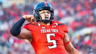 The Texas Gunslinger || Texas Tech QB Patrick Mahomes 2016 Highlights ᴴᴰ