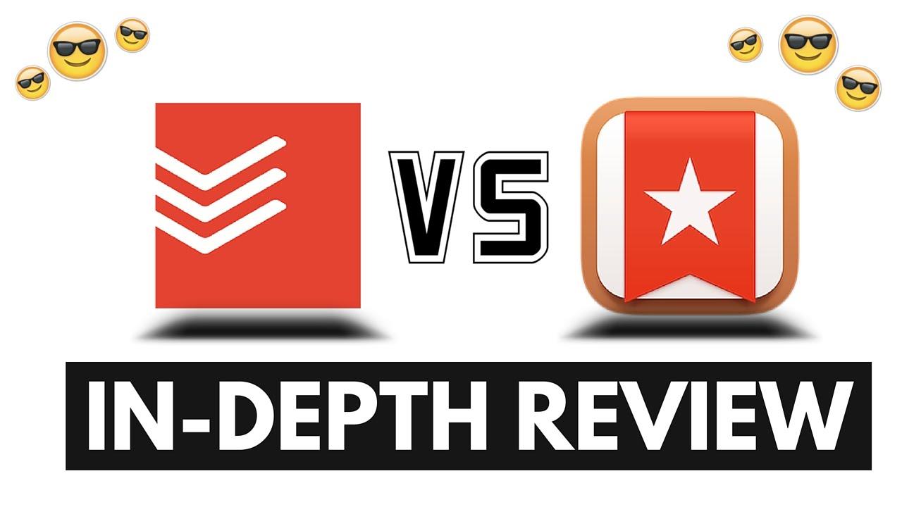 Todoist vs Wunderlist: In-Depth Review