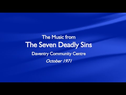 Seven Deadly Sins - just the music
