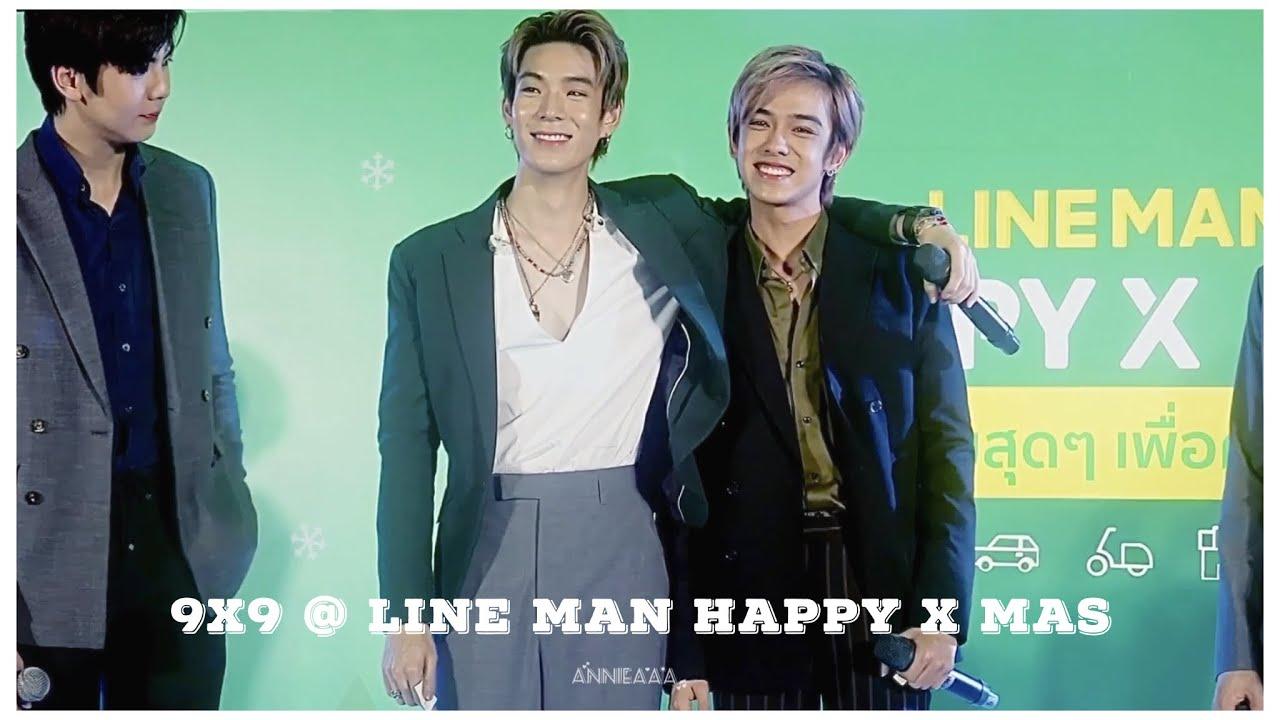 [เก็บตก] 9x9 @ Line Man Happy X Mas #9by9TH