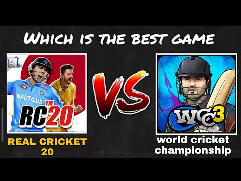 Wcc3™ Vs Real Cricket 20 (comparison)     देखते है कौन है No 1   Best Cricket Android Cricket Game