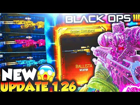 *NEW* BO3 DLC WEAPONS UPDATE 1.26 in BLACK OPS 3! - NEW BLACK OPS 3 1.26 DLC WEAPON UPDATE!