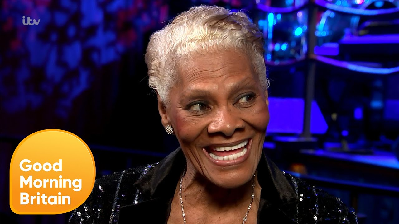 Dionne Warwick on Never Retiring & Fixing the World From the Top | Good Morning Britain