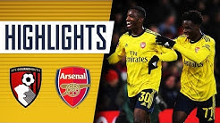 HIGHLIGHTS   Bournemouth 1-2 Arsenal   Emirates FA Cup