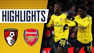 HIGHLIGHTS | Bournemouth 1-2 Arsenal | Emirates FA Cup