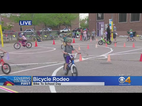 Safety, Environment Are The Messages Of Bike To School Day