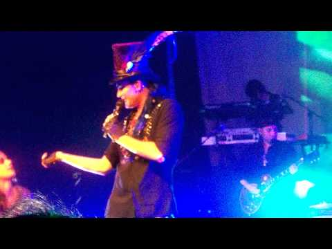 Adam Lambert performs VooDoo live in lubbock texas