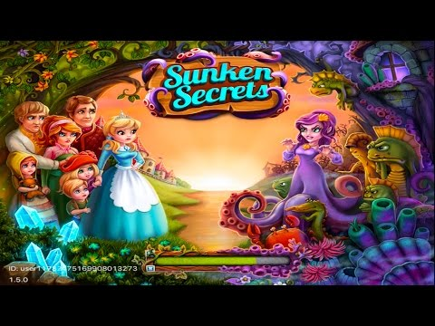 Sunken Secrets - By Big Fish Games, Inc -Compatible With IPhone, IPad, And IPod Touch.