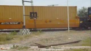 FXE ES44AC #4607 mixto autoracks intermodal