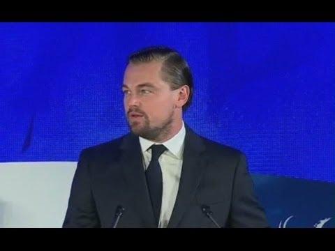 Leonardo DiCaprio Speech at Our Oceans Summit Sep 15, 2016.