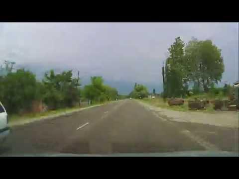 Tbilisi - Azerbaijan Border - Time-lapse - 170 km in 17 minutes