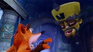 Crash Bandicoot 2: Cortex Strikes Back 100% Walkthrough Part 2 - Warp Room 2 (N. Sane Trilogy)