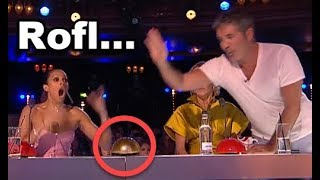 ROFL! GOLDEN BUZZER Comedian Makes Judges Can't Stop LAUGHING & Gets Simon's BUZZER!
