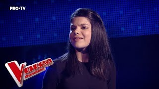 Mara Căptaru - Creep | Auditiile pe nevazute | Vocea Romaniei 2018
