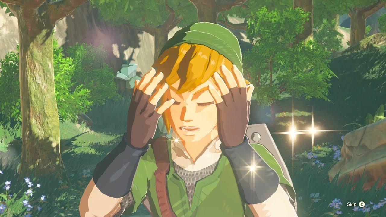 Zelda Botw Link Fully Upgrades His Skyward Sword Outfit