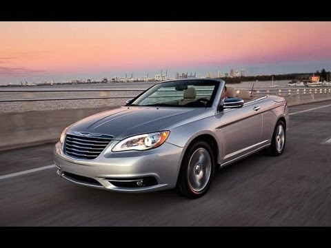 2012 chrysler 200 convertible drive review youtube. Cars Review. Best American Auto & Cars Review