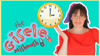 Let's Learn With Clocks | Show For Teaching Clocks To Children | The Gisele Mishmash