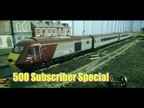 *500 SUBSCRIBERS* Unboxing the class 43 HST from Hornby