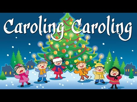 Caroling Caroling (Sing Along Video) | Christmas Songs And Carols For Kids With Lyrics
