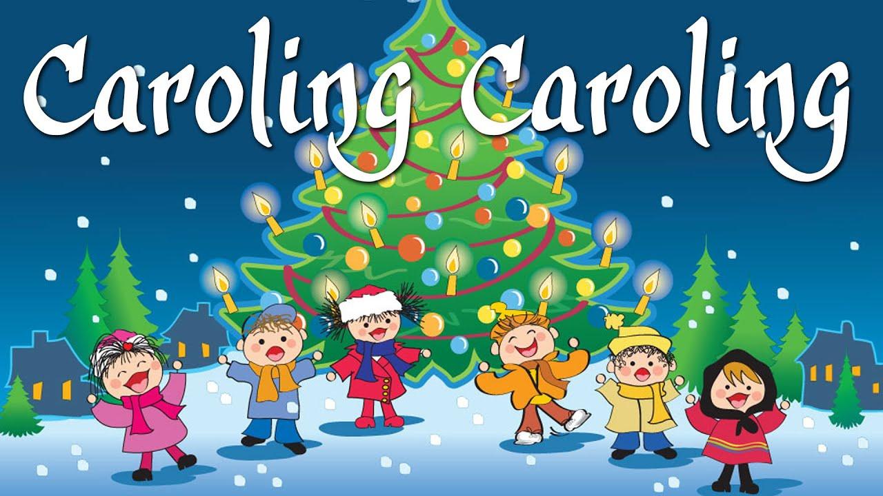 Caroling Caroling (Sing Along Video) | Christmas Songs And Carols ...