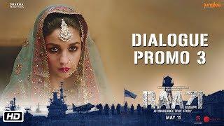 Raazi   Dialogue Promo 3   Code Names