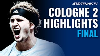 Alexander Zverev vs Diego Schwartzman | Cologne 2 2020 Final Highlights