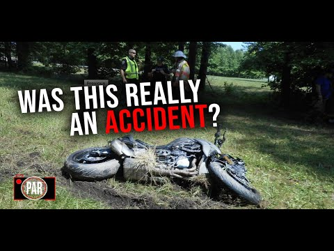 Exclusive:  Did A Sheriff intentionally Hit This Motorcyclist?