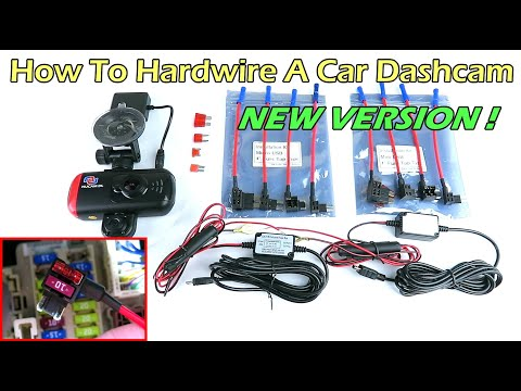 Dashcam Hardwire Kit W/ Fuse Tap NEWLY IMPROVED HARDWIRE KIT