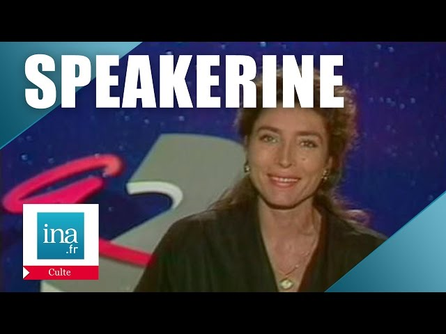 Speakerine 1990 Marie-Ange Nardi | Archive INA