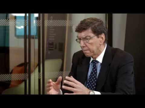 Clayton Christensen - Disruption in Financial Services