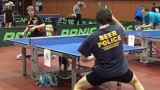 Dmitriy OSIPOV vs Georgiy BELOV Moscow, Krylatskoe, Table Tennis Center in Krylatskiy Hills