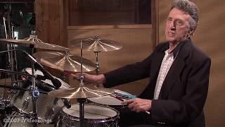 Elvis' drummer, D.J. Fontana, along side Scotty Moore on lead guita...