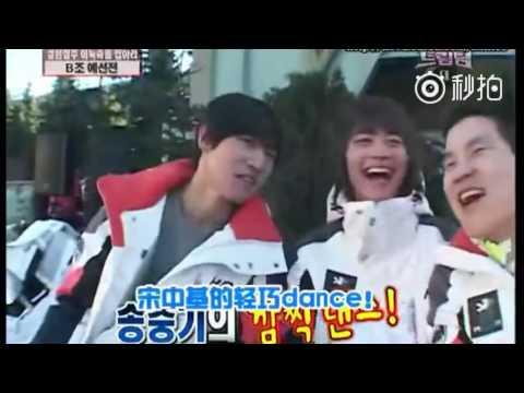 Song Joong Ki - dance compilation XD