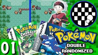 Pokemon Emerald/Sapphire Randomized With One Controller | PART 1